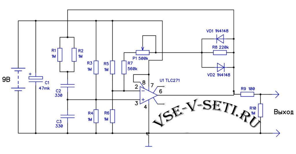 Простой генератор звукового сигнала